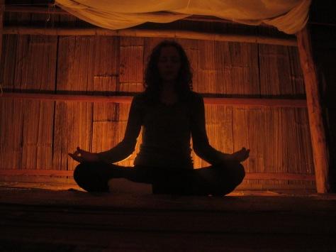 Bamboo meditation